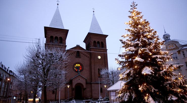 Gudstjenesterne juleaften er de mest besøgte.