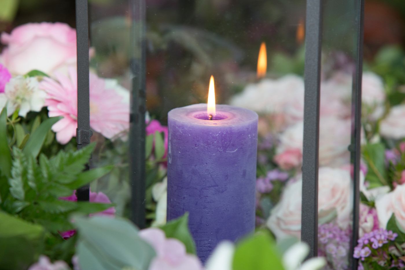 Lys på grav