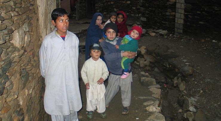 Børn i Malakand, Pakistan.