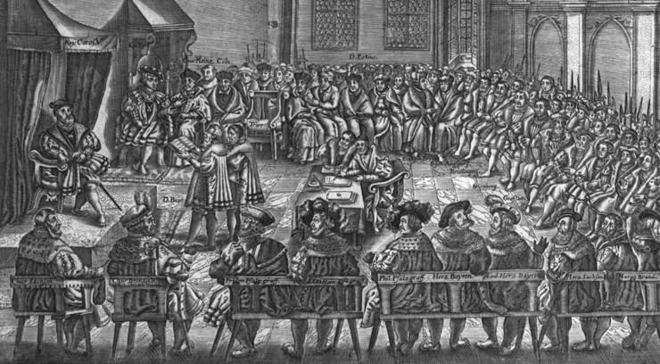 De lutherske protesterede højlydt på Rigsdagen. Sådan fik de navnet protestanterne