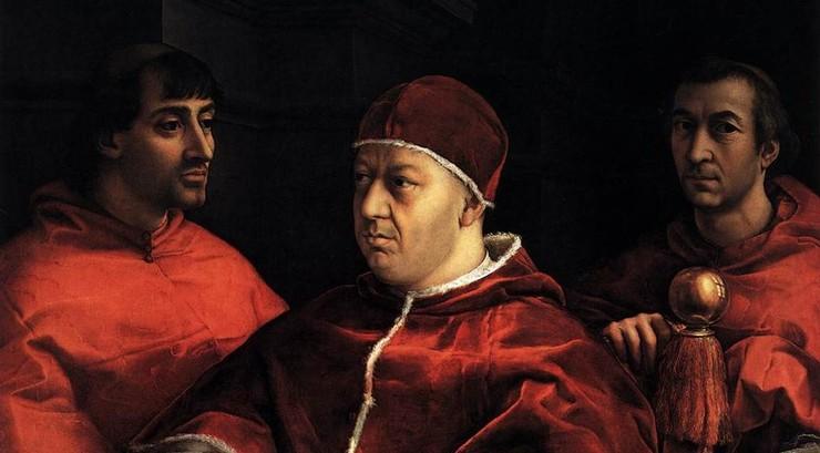 Pave Leo X var pave fra 1513 til 1521