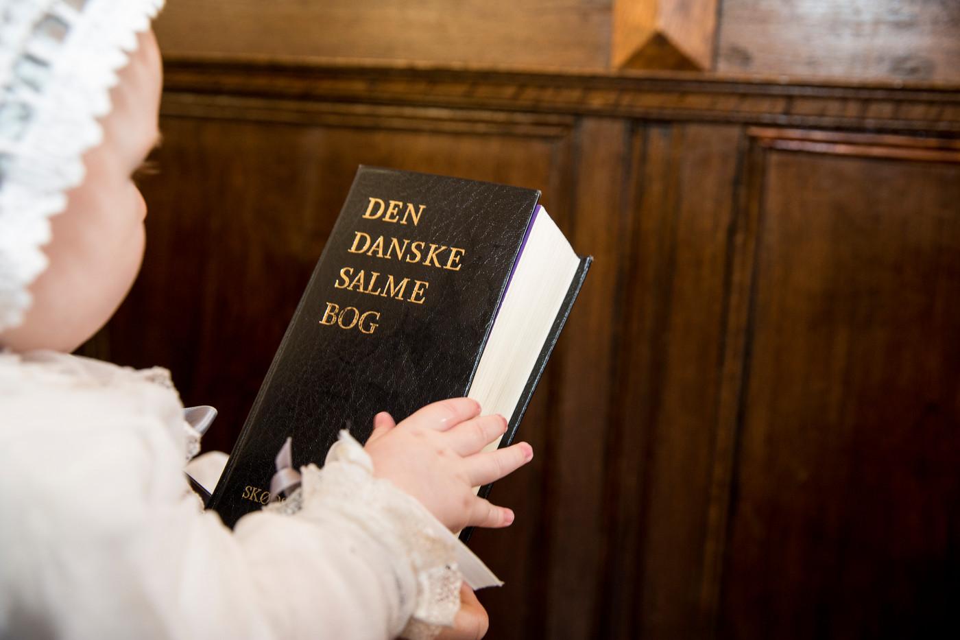 Barnedåb og salmebog