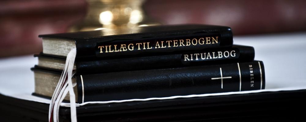 De forskellige gudstjenesteformer i Folkekirken er beskrevet i Den danske 'Alterborg og Ritualbog - Gudstjenesteordning for Den Danske Folkekirke'