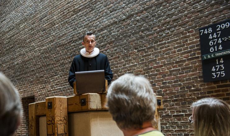 Prædiken ved gudstjeneste i folkekirken