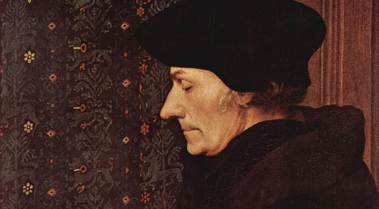 Erasmus af Rotterdam vovede at kritisere den romerske kirke, men Luthers og Calvins kritik var langt mere vidtgående