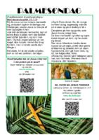1. tekstrække - Påskevandring - Palmesøndag