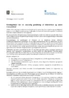 2020 Maj Retningslinjer for en ansvarlig genåbning af folkekirken og andre trossamfund