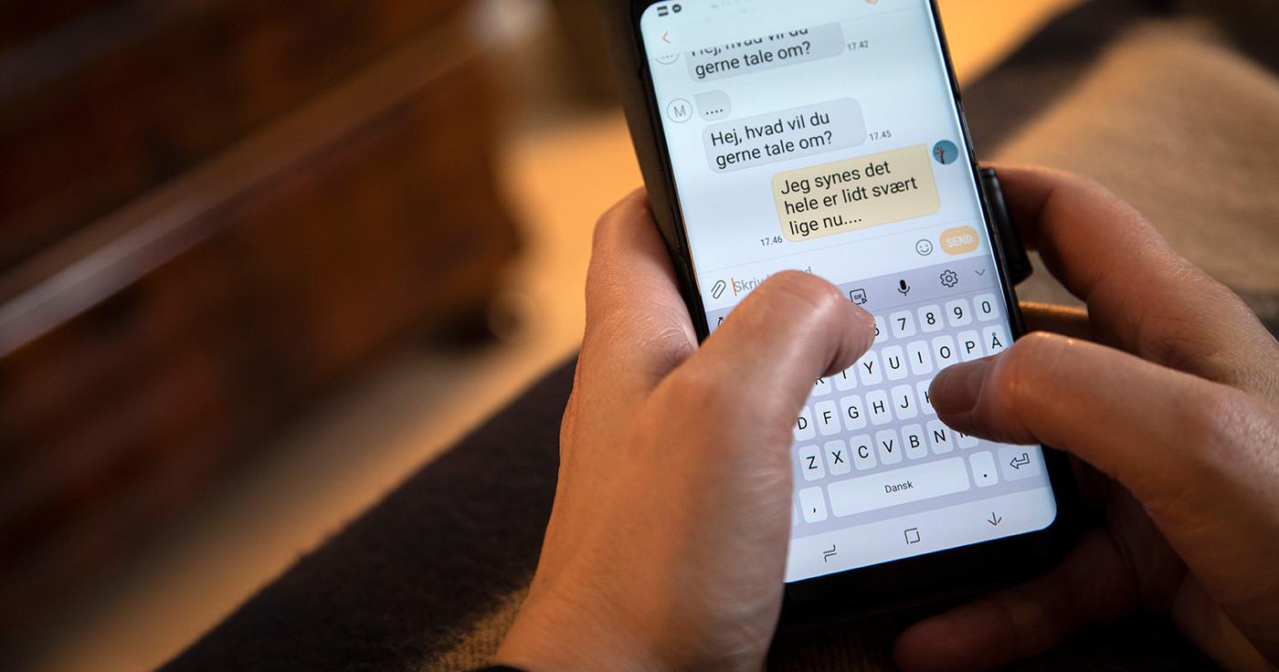 En sms til præsten