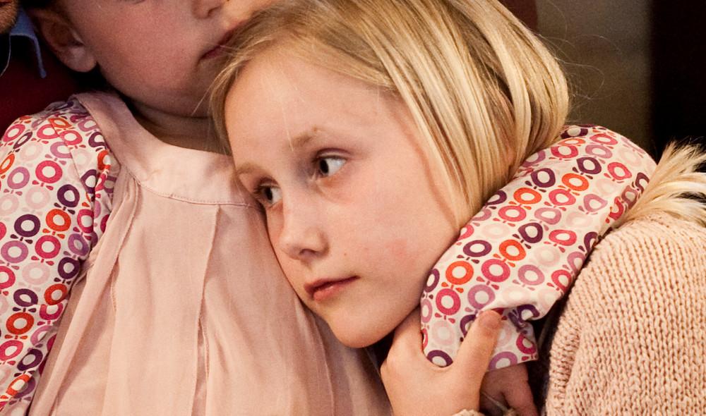 Folkekirken har sorggrupper for børn og unge.