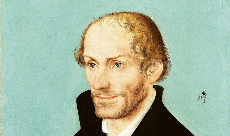 Philipp Melanchton blev professor i græsk allerede som 21-årig