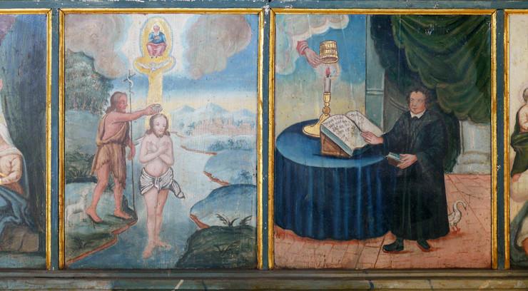 Luther gjorde op med den katolske kirkes hierarkiske opbygning ved at introducere det almindelige præstedømme
