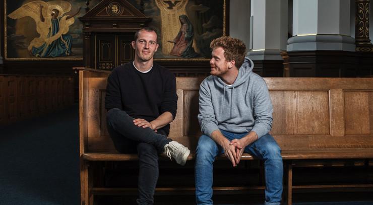 Simon Sears og Morten Hee Andersen fra Herrens Veje folkekirken.dk