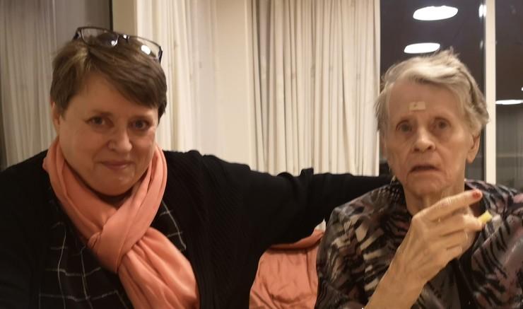 Link til interview med pårørende til demensramt.