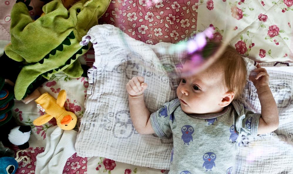Et barn kan blive nøddøbt eller hjemmedøbt, hvis det er sygt eller i livsfare.