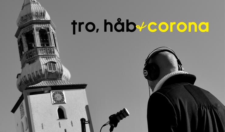 Link til podcasten Tro, håb og corona.