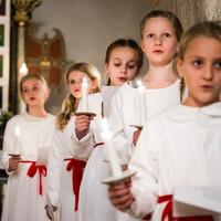 Lucia i kirken