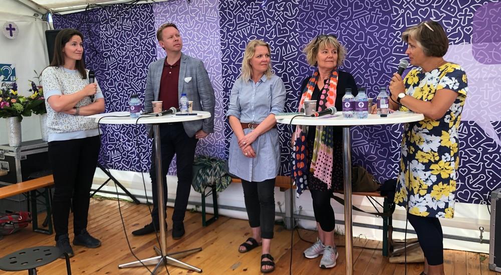 Gertrud Højlund, Marianne Gaarden, Folkemødet 2019