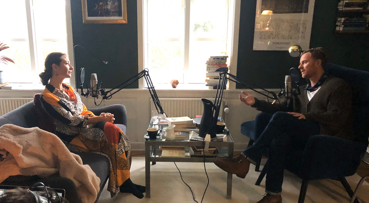 Optagelse til podcasten Næstekaffe