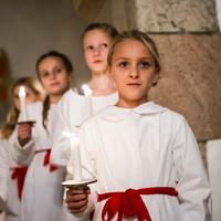 Luciaoptog i kiren (1)
