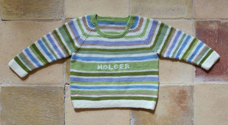 dåbssweater
