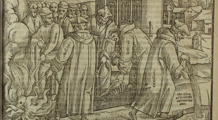 Efter sin død blev John Wycliffes skrifter erklæret for kætterske