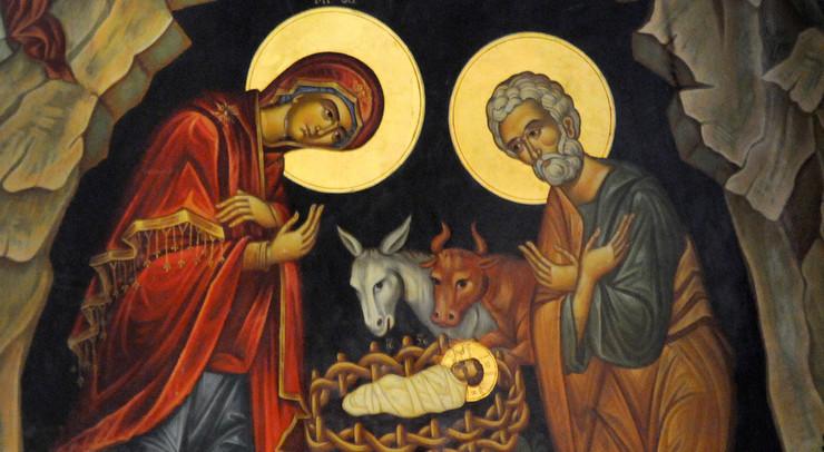 I julen fejrer vi, at Jesus blev født.