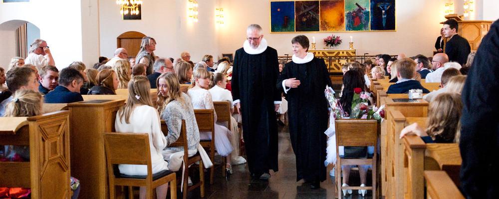 Konfirmation er en festdag i kirken.