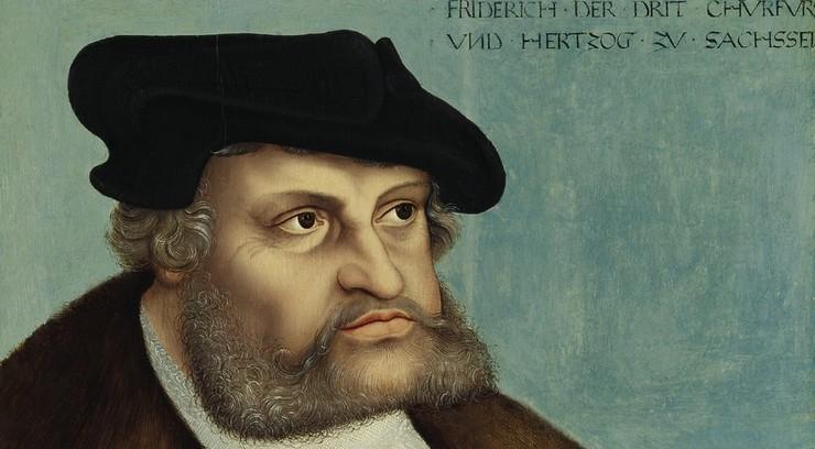 Kurfyrsten holdt Luther skjult, efter ham blev dømt fredløs i 1521