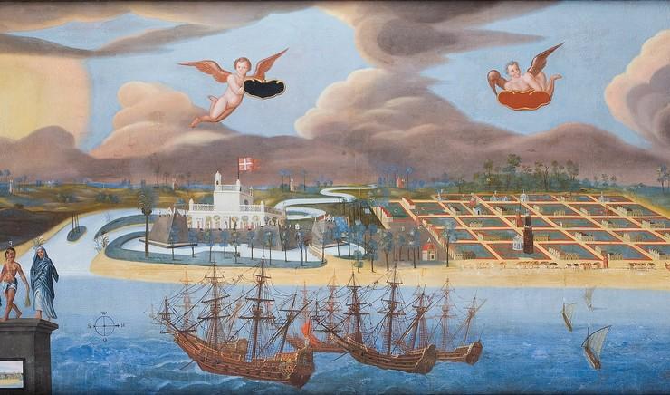 De første danske missionærer på mission