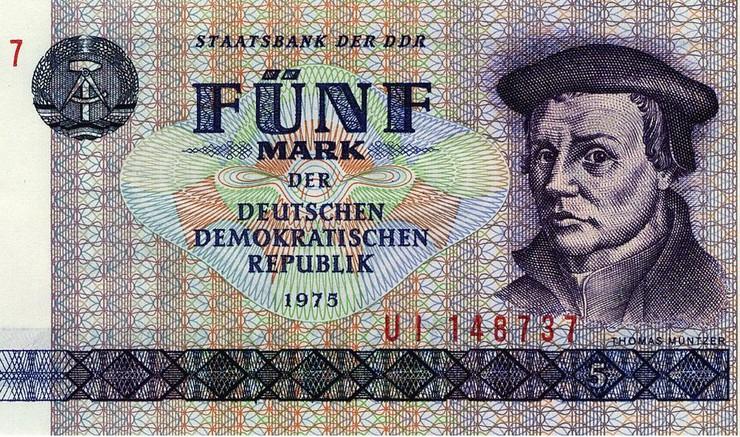 Præsten Thomas Münzer var en af de drivende kræfter bag bondeoprøret i 1524-1525