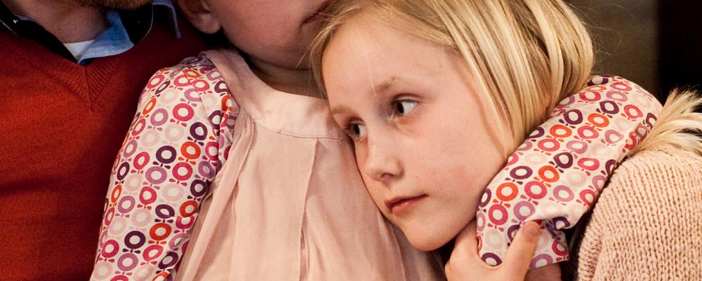 Folkekirken har også sorggrupper for børn.
