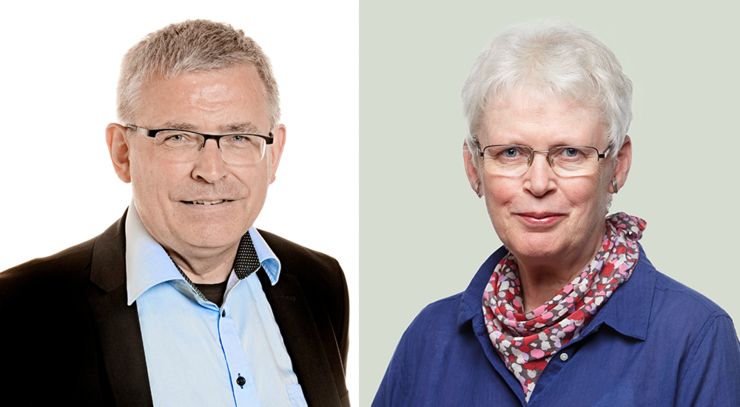 Jørgen Egebjerg Pontoppidan og Lone Hindø