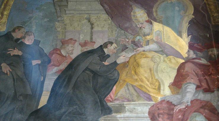 Spanieren Ignatius Loyola stod bag en kontra-reformatorisk bevægelse i den katolske kirke