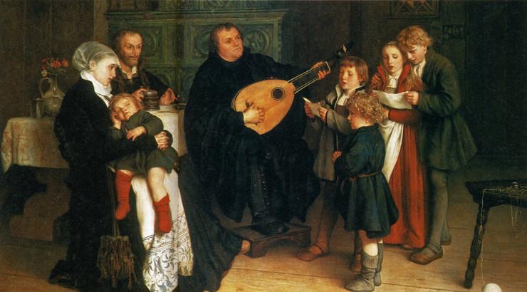 Luther elskede musik og kunne spille både fløjte og lut