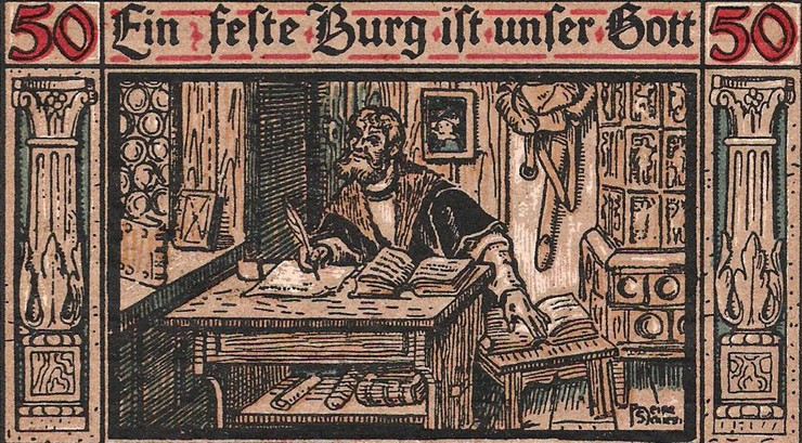 Luther oversatte hele Bibelen til tysk, så alle kunne læse den