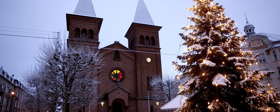 I nogle kirker kan du holde juleaften