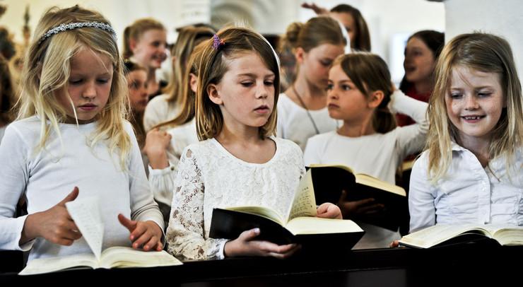 Luthers lille Katekismus er i mange år blevet brugt til at fortælle børn om den kristne tros indhold.
